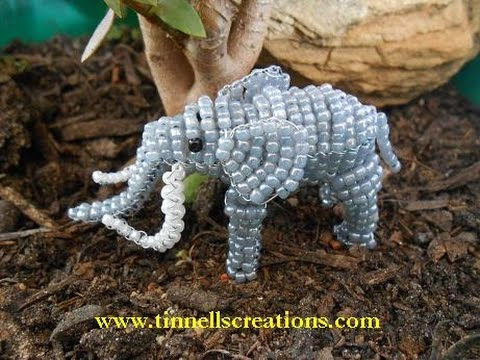 how to make 3d bead animals step by step
