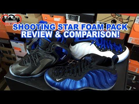 Nike Shooting Star Penny Foamposite Pack Review & Comparison Royal Blue Foam / Lebron 11