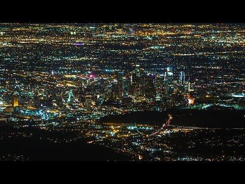 Mount Wilson Sunset, Los Angeles - 4K Timelapse