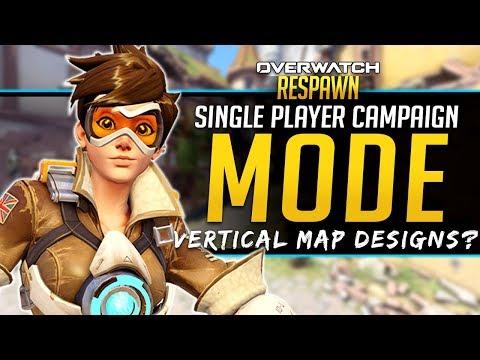 Overwatch Respawn #43 - Hero Attacks through walls? - New Map Designs thumbnail