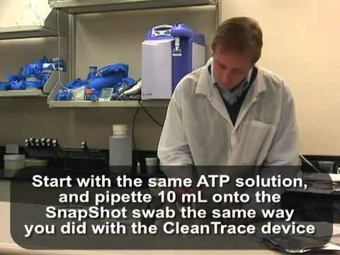 Hygiena 3M CleanTrace Side By Side Evaluation Video