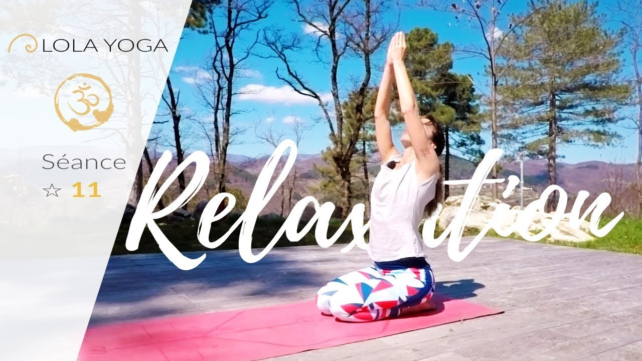 s ance de yoga et relaxation au domaine du taill lola yoga youtube. Black Bedroom Furniture Sets. Home Design Ideas