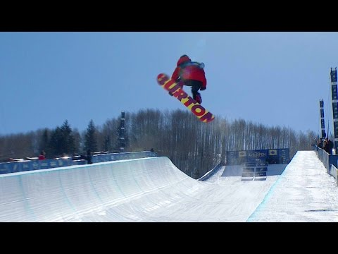 Greatest Commentary of Snowboard Halfpipe Run Ever