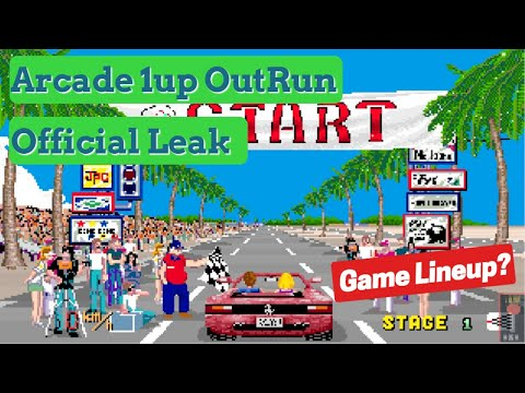 Arcade1up OutRun Cabinet Confirmed | Game Lineup Prediction from Basic Reviews by David