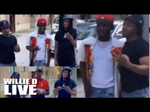 Tourists Flock To Chicago's Deadly O-Block; Cry Taking Selfies w/ THUGS On IG!!