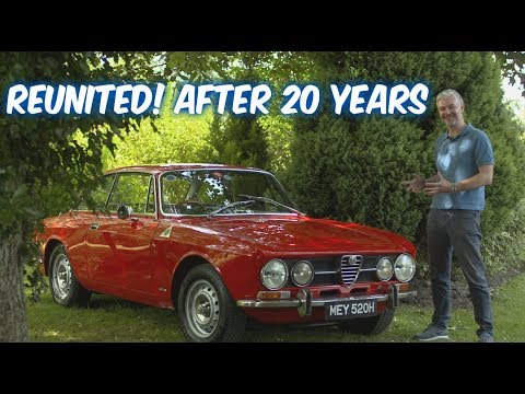 Alfa Romeo Giulia 1750 GTV 105 series Coupe - Revisiting an old friend...
