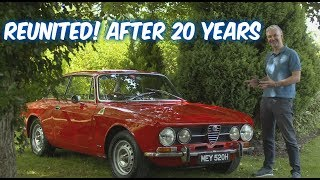 Alfa Romeo Giulia 1750 GTV 105 series Coupe - Revisiting an old friend...