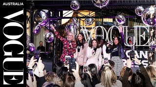 VAEFNO 2019 Melbourne as a Vogue VIP | Vogue American Express Fashion's Night Out