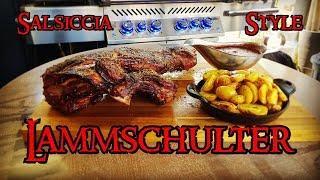 📷 Lammschulter - Salsiccia Style an Rotweinsauce | Grill & Chill / BBQ & Lifestyle thumbnail