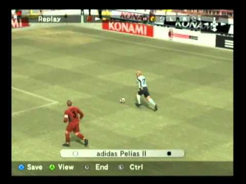 Pro Evolution Soccer 5 (World Soccer Winning Eleven 9) Xbox Gameplay
