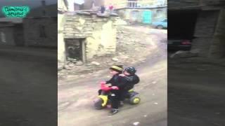 Форсаж-7 Высоко в горах! Приколы с Детьми! / Fast & Furious 7 High in the mountains!