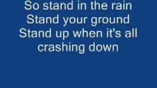 Stand in the Rain lyrics