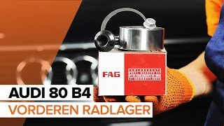 Montage AUDI 80 (8C, B4) Bremssattel Reparatursatz: kostenloses Video