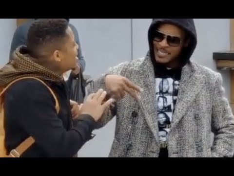Shay Diddy - T.I. G Checks Black Man For Still Wearing Gucci