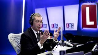 The Nigel Farage Show: Poisoning of former Russian spy. LBC - 8th March 2018