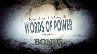 Mind and Magick: Words of Power Bonus #2 Announcement