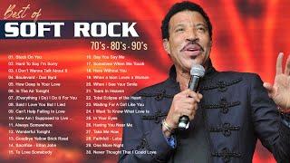 Lionel Richie, Phil Collins, Air Supply, Bee Gees, Chicago, Rod Stewart - Best Soft Rock 70s,80s,90s