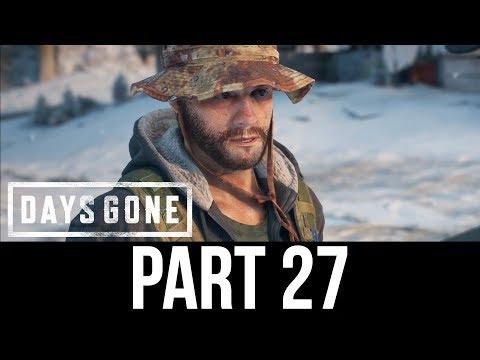 DAYS GONE Part 27 Gameplay Walkthrough - TRAVELLING SOUTH (Full Game)