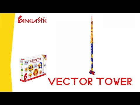 VECTOR TOWER - FANCLASTIC - 3D creative building set for children