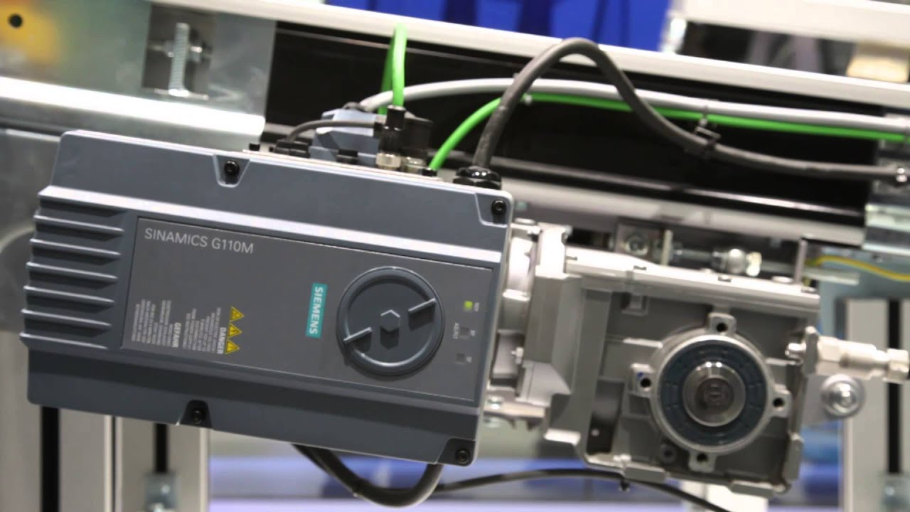 The new distributed inverter SINAMICS G110M from Siemens