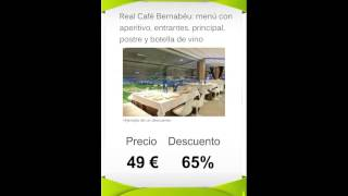 Groupon Madrid desde Vallacitaria.com