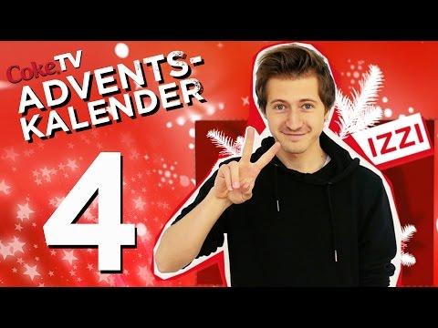 CokeTV Adventskalender: Türchen 4 mit izzi | #CokeTVMoment