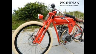 Bicicleta motorizada WS Indian