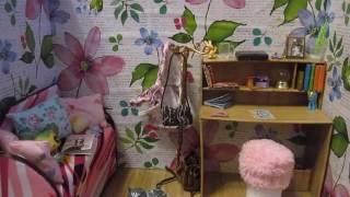 Мой Румбокс для кукол! Обзор на комнату для кукол!(Всем привет! Рада вас видеть на моем канале Lady Cat! Я коллекционер кукол разных брендов. Здесь вы сможете..., 2016-12-29T15:13:07.000Z)