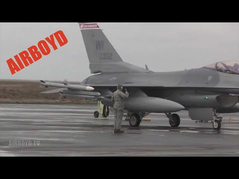 F-16 Operations Northern Viking 2011