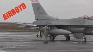 F-16 Operations Northern Viking 2011