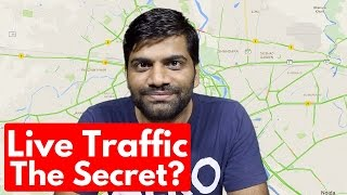 How Live Traffic Works?? Google Behind us!!! Google Maps Free HD Video