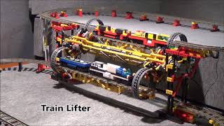 The 10 Hottes , Amazing Lego Technic Trains Creations on the Web