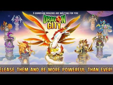 Dragon City - 9 Guardian Dragons [Full Unlock 2015]