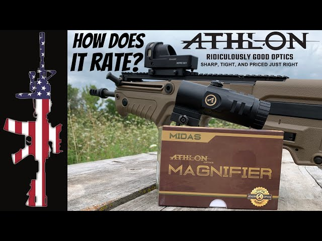 Athlon Optics MIDAS 5x Magnifier - How Does It RATE?