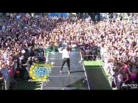 Demi Lovato - Neon Lights (Live on GMA)
