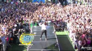 Demi Lovato - Neon Lights (Live on GMA)