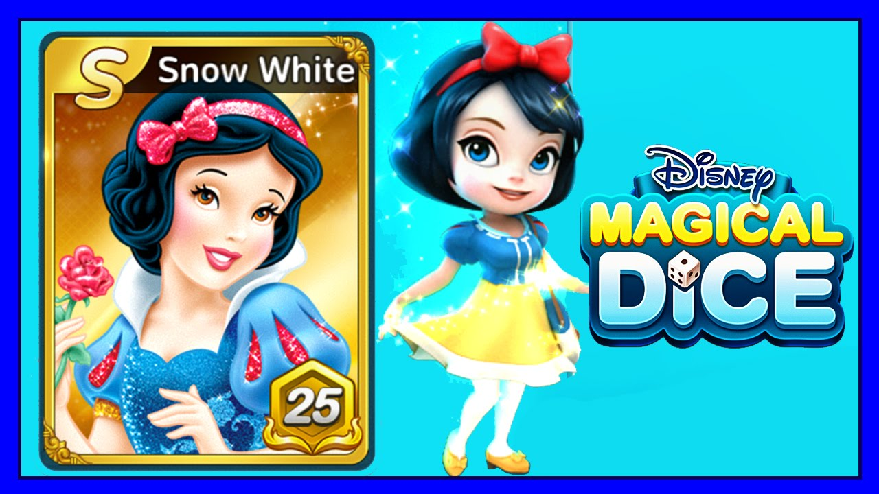 Disney Magical Dice Snow White S Level 25 Ios Android
