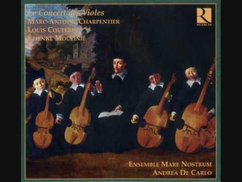 Eustache du Caurroy: Cinq fantaisies sur Une jeune filette (a 1, 2, 3, 4 & 5 violas)