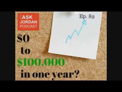 Ep. 89 - Can you go from $0 to $100,000 in 1 year by selling on Amazon?