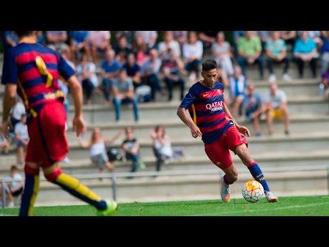 Jordi Mboula 2015/2016 ● Barcelona Juvenil B (U18)
