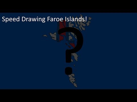 Speed Drawing Faroe Islands!