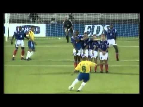 Download Roberto Carlos - The Banana: Best Football Free Kick Goal Ever Scored (Brazil vs France)