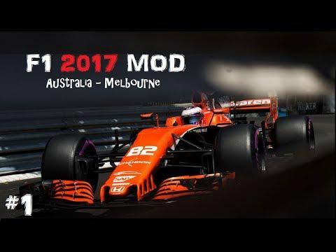 F1 2017 MOD // R01: AUSZTRÁLIA-MELBOURNE // MCLAREN-HONDA