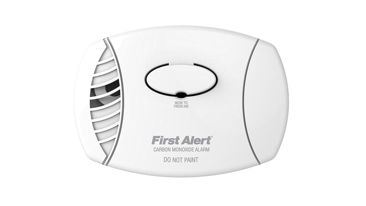 First Alert Carbon Monoxide Detector Plug In Alarm CO Sensor CO615 CO605 CO600