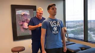 Houston Chiropractor Dr Gregory Johnson Adjust Smart  NYC Man For Preventative Care