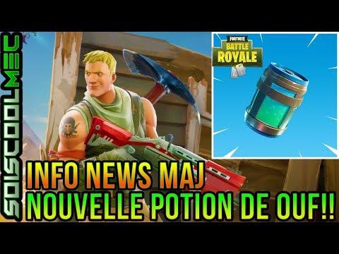 info-news-maj!-nouvelle-potion-complÈtement-cheater!-+-info-sur-les-serveur!-fortnite-battle-royal!