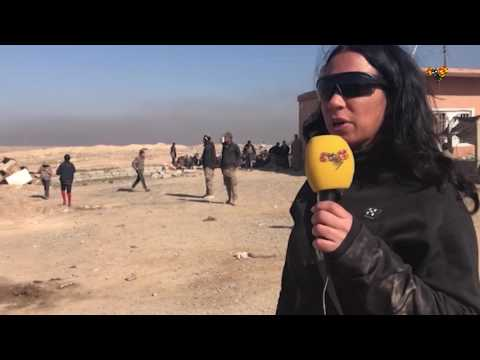 Här Tas IS-terrorister Till Fånga - Gråter Som Barn