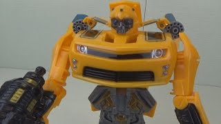 Игрушка трансформер Бамблби трансформация Toy Transformers Bumblebee(Обзор игрушки трансформер Бамблби. Трансформация в машину Игрушка предоставлена интернет-магазином