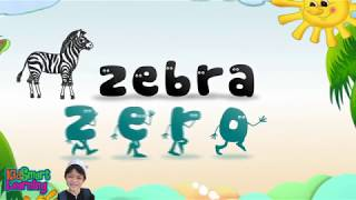 A to Z Phonics Alphabet Letters for Early Childhood or Elementary Education with KidSmart Learning