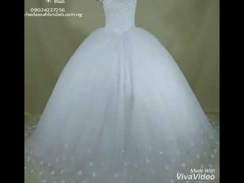 New Wedding Gowns Available In Lagos Wedding Shop